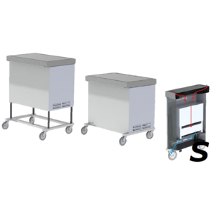 Chameleon ATS Mobile Downdraft Surgery Table configuration, Regular size, height adjustable, plug-n-play.