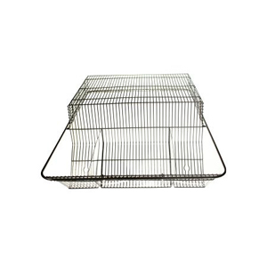 S/S Ventilated High Top Wire Bar Lid