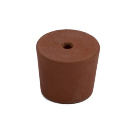 Red Rubber Flat Top Bung 22-38mm