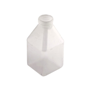 600ml HighGrade Polypropylene Bottle Square Grad Autoclavable: 100 cycle warranty.