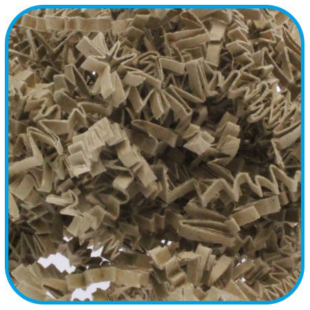 Pura Crinkle, Brown Kraft Paper Nesting 10kg bulk cartons, Screened and Certified.