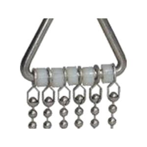 Rodent Calmer Sml S/Steel beaded chain with nylon spacers, clips to Cages