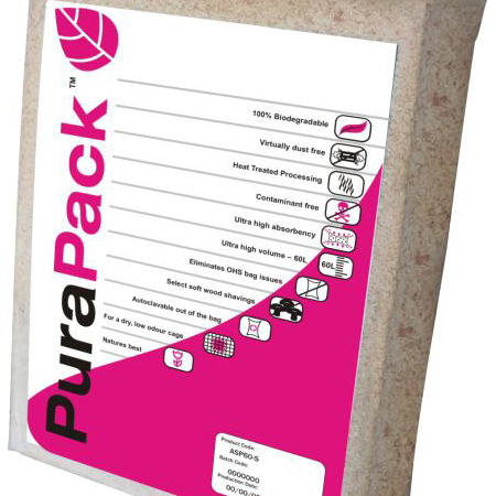 Pura Pack Soft Wood Non-Auto. Compressed 60L