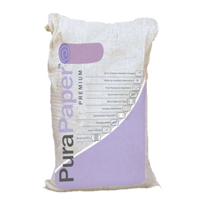 Pura Paper Virgin Paper absorbent white bedding chips 9kg